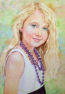 Laura | 9 x 13 inches | SOLD