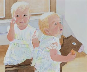 Marta and Zeta | 15 x 12 inches | Sold