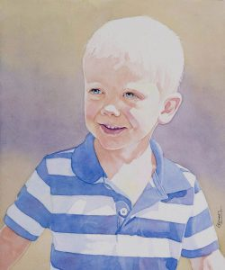 Nathaniel | 12 x 14 inches | SOLD