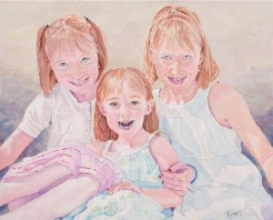 Three Sisters | 14 x 17 inches | SOLD